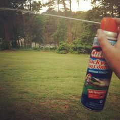Having friends over this July 4th for a fun gathering? A couple of days before your party, spray this outdoor fogger. It repels mosquitoes for up to 4 weeks!
