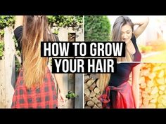 ▶ How To Grow Your Hair & My Hair Care Routine   LaurDIY - YouTube