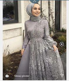 Hijab Engagement Models 2020 - in 2020 Hijab Engagement Models 2020 - in 2020 Hijab Dress Party, Hijab Evening Dress, Hijab Style Dress, Evening Dresses, Islamic Fashion, Muslim Fashion, Hijab Fashion, Fashion Dresses, Dresses Dresses