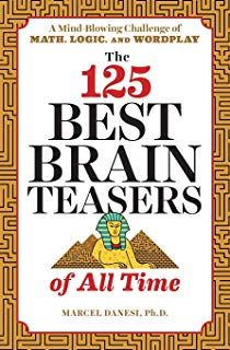 Brain Teasers for Adults: 75 Large Print Puzzles, Riddles, and Games to Keep You on Your Toes: Marcel Danesi: 9781646110582: Amazon.com: Books Best Brain Teasers, Brain Teasers For Adults, Brain Teasers With Answers, How To Be Smart, Georgia, Book Review Blogs, Puzzle Books, Book Suggestions, Book Projects