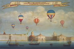 SuperStock Stock Photography, Rights Managed & Royalty Free Images How To Draw Balloons, Russian Painting, Vintage Drawing, Old Paintings, Travel Images, Old Master, Image Collection, Royalty Free Images, Illustration Art
