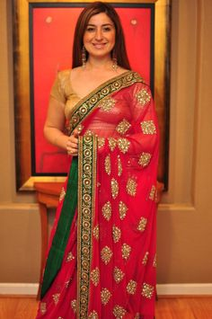 Another beautiful saree ...Sabyasachi.