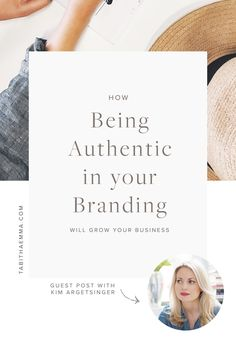 How Being Authentic in your Branding will Grow your Business | Authentic Brand | Business Growth | Personal branding | tabitha emma