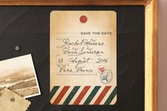 Vintage Pack Your Bags by Dawn Jasper at minted.com