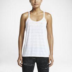 Damska koszulka bez rękawów do biegania Nike Dri-FIT Cool Breeze Strappy