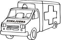 Preschool Coloring Pages Transportation