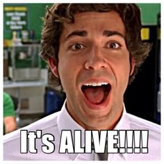 When chuck finds out that casey has feelings-- it's ALIVE!!!