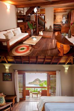 Beachfront Suite Ideal for a Romantic Getaway in Rivas, Nicaragua Romantic Destinations, Romantic Vacations, Romantic Getaways, Ometepe, Go Glamping, Luxury Tents, The Perfect Getaway, Visit California, Lounge Areas