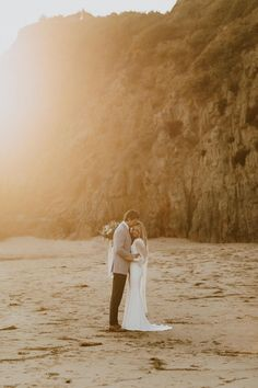 Crescent Bay Beach in Laguna Beach is one of my favorite locations for, engagement photos, beach elopements or sunset bridals! Sarah put on her stunning long sleeved wedding dress with her veil and Zach put on his groom's suit for these sunset bridals in Laguna Beach! Browse the blog to see this full day! Beba Vowels Photography Beach Wedding Photos, Seaside Wedding, Bridal Session, Bridal Shoot, Beach Cove, Temple Wedding, Beach Elopement, Cute Couple Pictures, Laguna Beach