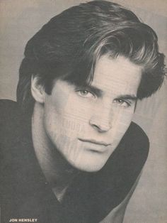 Jon Hensley as Holden on All My Children, his and Lily's storyline was my favorite of any soap matchups evah for me