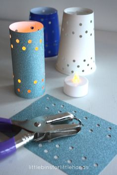 Celebrate the dark days with these easy paper cup luminaries that kids can help make too! Light up the dark afternoons with paper cup luminaries for kids. Winter Crafts For Kids, Winter Kids, Kids Crafts, Winter Activities For Kids, Winter Camping, Paper Cup Crafts, Paper Cups, Hobbies For Women, Senior Gifts