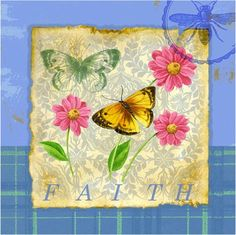 @rosenberryrooms is offering $20 OFF your purchase! Share the news and save! (*Minimum purchase required.) Butterfly Papillon Plaid II Canvas Reproduction #rosenberryrooms