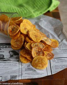 Plantain chips | Super Bowl recipe