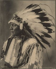 Chief Hollow Horn Bear, Sioux, via Flickr.