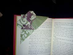 Heart corner bookmark!