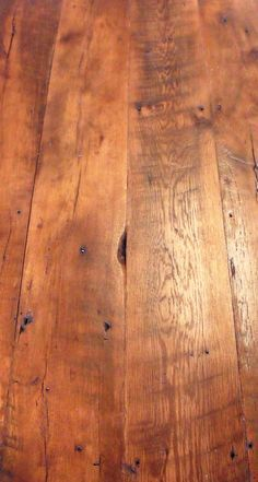 You can get so many beautiful rich colors with reclaimed flooring; they add such character and value to a space Plank Flooring, Wooden Flooring, Hardwood Floors, Loft Flooring, Flooring Ideas, Reclaimed Wood Floors, Barn Wood, Fresh Farmhouse, Farmhouse Decor