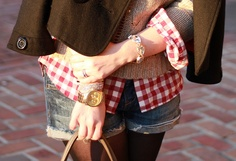 "Alison of ""Chain Strap Purse"" wearing our Drops of Sparkle #bracelet."