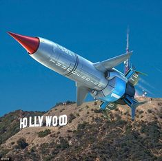 Back in business: First look at the new Thunderbird 1 from the revamped children's TV show...