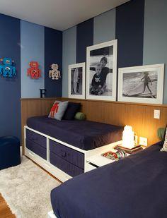 Referência dormitório Meninos. Casa Vogue