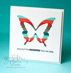 Created by Jennifer McGuire using some Simon Says Stamp Exclusive dies.