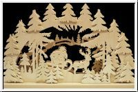 $ 89.56 : RATAGS Doppel-Schwibbogen Weihnachtsnacht, 43x30 cm