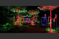 Light garden chaumont
