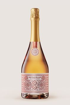 Originating in Italy, like this stock, 'Reticella' is a form of drawn #threadwork where fabric threads are pulled out to create a 'grid' on which to embroider a pattern. #Reticello #sparkling #label Studio: Harcus Design Designer: Galima Akhmetzyanova Creative Director: Annette Harcus Bottle Photography: Stephen Clarke Sparkling Grape Juice, Perfect Foundation, Creative Director, Gourmet Recipes, Grid, Champagne, Label, Beer, Sparkle