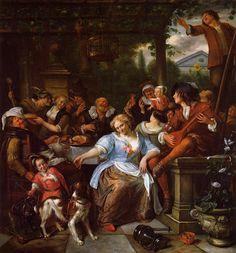 TICMUSart: Merry Company on a Terrace - Jan Havicksz Steen (1...