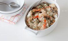 Epicure*s Paris Bistro Seafood Casserole Epicure Recipes, Seafood Recipes, Healthy Recipes, Quesadillas, Paris Bistro, Lean Meals, Food Dye, Skinny Recipes, Yummy Eats