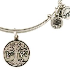 Alex and Ani Tree of Life Expandable Wire Bangle Russian Silver   I LOVE THIS HAD TO HAVE IT!