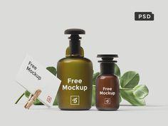 Free Branding Scene Mockup (55.7 MB) | By Ruslanlatypov on Dribbble | #free…