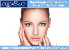 Non-Surgical Nose Job and Face Lift Adelaide can bring aesthetic benefits and balance to a patient's face. To look more beautiful please contact us on 08 8297 1476.