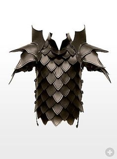 Dragon Slayer Leather Armour black - maskworld.com