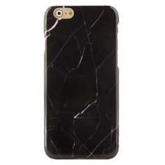 BLACK MARBLE IPHONE CASE ($20) ❤ liked on Polyvore featuring accessories, tech accessories, iphone cover case and iphone sleeve case