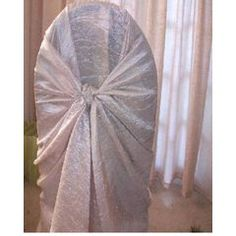 Chair Covers -Self Tie -Crushed Taffetta SlipCovers - Bulk lot of for Chair Covers, Slipcovers, Tie, Design, Chair Sashes, Cases, Cravat Tie, Furniture Covers