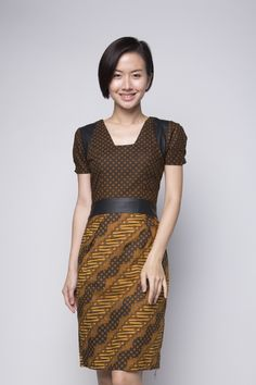 Truntum Naga Dress, IDR 340.000