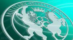 The logo of Britain's secret intelligence agency MI6