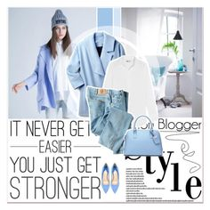 """""""Blue Motion"""" by lucky-1990 ❤ liked on Polyvore featuring J.Crew, Dickies, DUDU and Paul Andrew"""