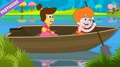 Row Row Row Your Boat | Nursery Rhymes - Portuguese (Canções Infantis ) |