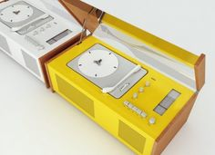 Dieter Rams Record Player  //  I made a noise kind of like a pain noise when I saw this unattainable beauty