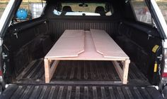 Truck Bed Sleeping Platform Travel Vehicles Pinterest