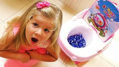 Bad Baby Learn Colors with Candy in Toilet & Baby songs nursery rhymes for kids, Finger family song    {{AutoHashTags}}