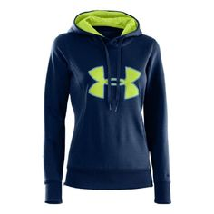Womens Under Armour AF Storm Big Logo Hoody, Indigo/X-Ray/Dark Blue, L Under Armour Seahawks colors Under Armour Jackets, Under Armour Women, Fall Winter Outfits, Winter Fashion, Sport Outfits, Cute Outfits, Under Armour Sweatshirts, Kinds Of Clothes, Fitness Fashion