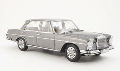 Catawiki online auction house: Norev Dealer - Schaal 1/18 - Mercedes Benz 280 SE (W108) Limousine, Grijs Metallic Limousin, S Car, Model Trains, Diecast, Mercedes Benz, Auction, Metallic, Miniatures, House