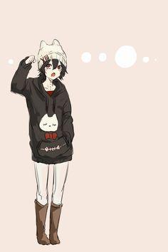 Tokyo Ghoul Neko Juuzou beanie . #winter +#juuzousuzuya