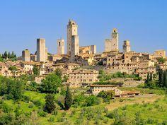 San Gimignano village in Tuscany
