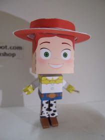 "Yooleheehoo~~~~~ Jessie the yodeling Cowgirl~ From ""Toy Story"" movies. A excitable, brave and athletic cowgirl.      View of back         S..."