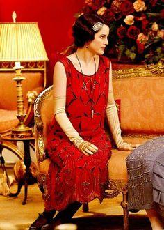 Lady Mary--Downton Abbey season 4