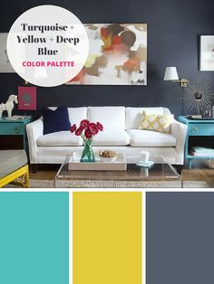 8 Refreshing Color Combos We Re Absolutely Loving Right Now Paint Colors For Living Roomcolourful