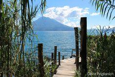 Lake Atitlan Guatemala [OC] [2048 x 1365]. wallpaper/ background for iPad mini/ air/ 2 / pro/ laptop @dquocbuu